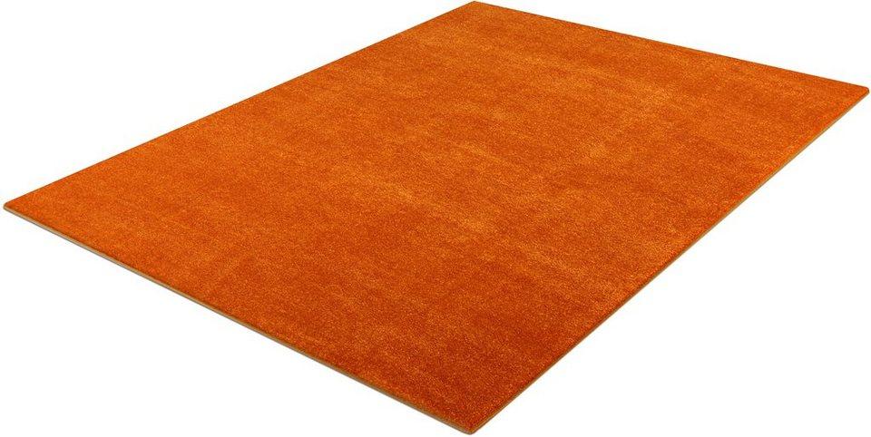 Teppich, Trend Teppiche, »Kolibri 11000« in orange