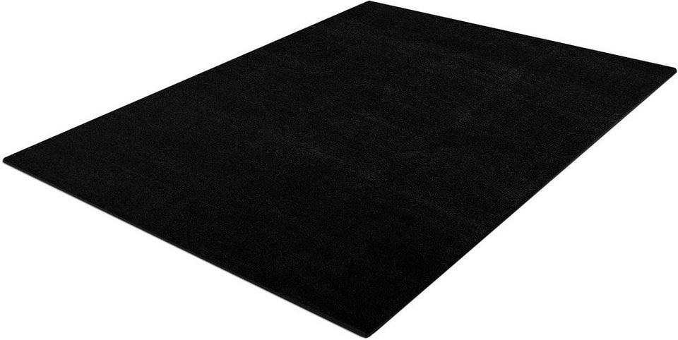 Teppich, Trend Teppiche, »Kolibri 11000« in schwarz