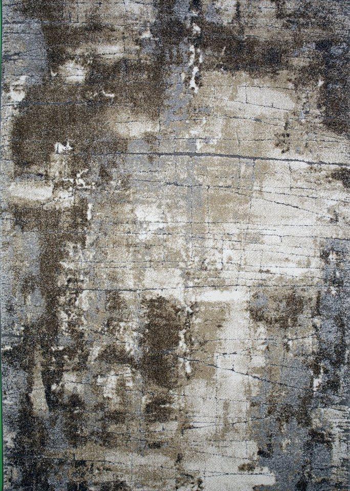 Teppich, merinos, »Ibiza«, gewebt in beige grau