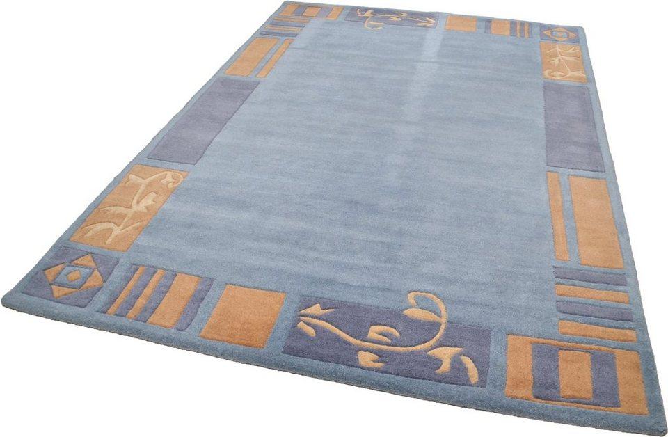 Teppich »Hawai 7098«, Theko, rechteckig, Höhe 14 mm in blau