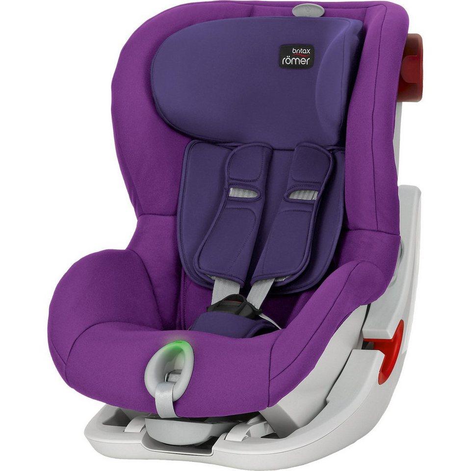 Britax Römer Auto-Kindersitz King II LS, Mineral Purple, 2016 in lila