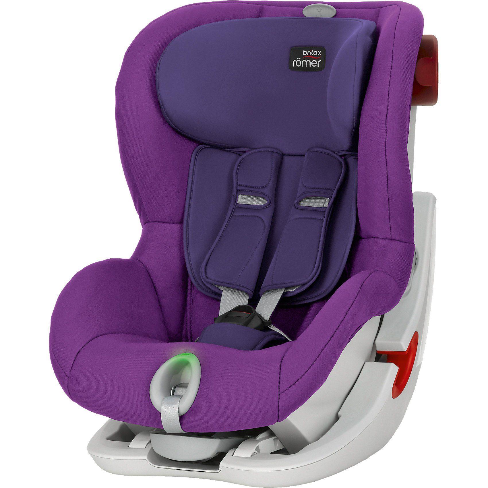 Britax Römer Auto-Kindersitz King II LS, Mineral Purple, 2016