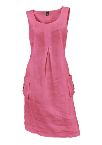 LINEA TESINI BY HEINE Lininė suknelė su aufgesetzten Ballont...