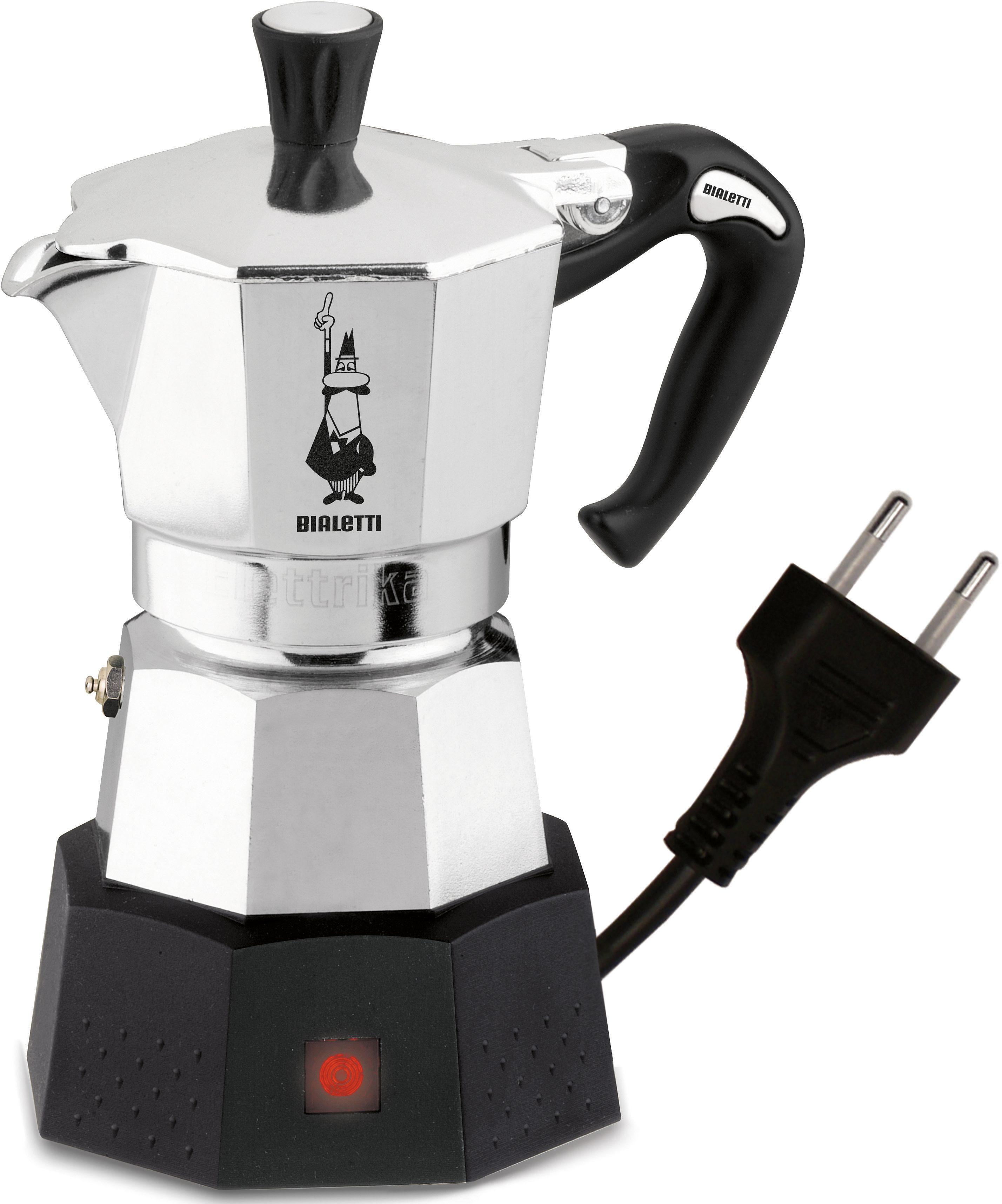 Bialetti Espressokocher Elettrika 2778, mit Reisestecker