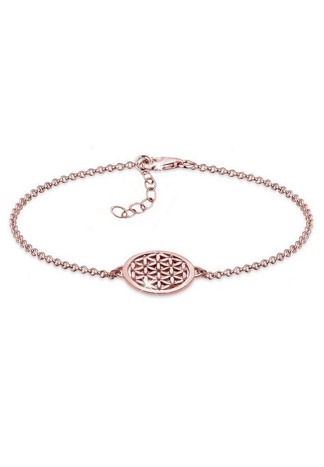 Elli Armband »Lebensblume ROSÉGOLD« in Rosegold