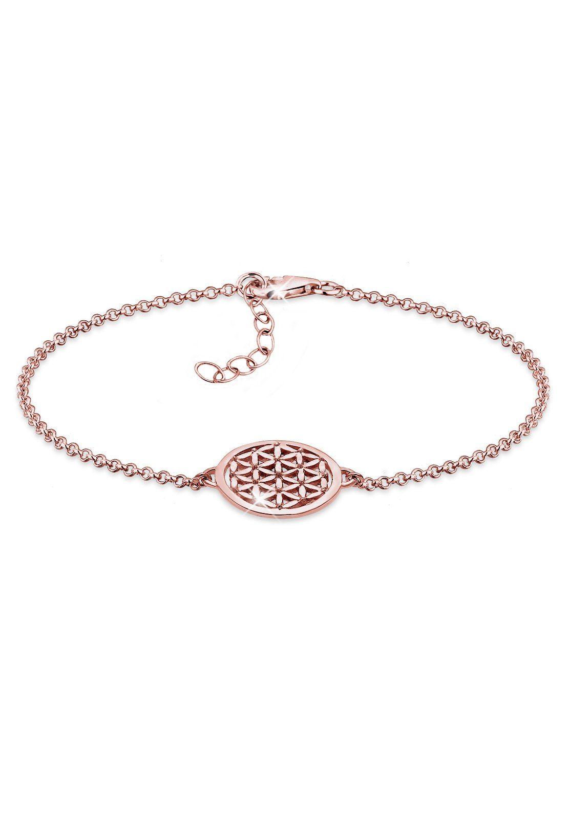 Elli Armband »Lebensblume ROSÉGOLD«