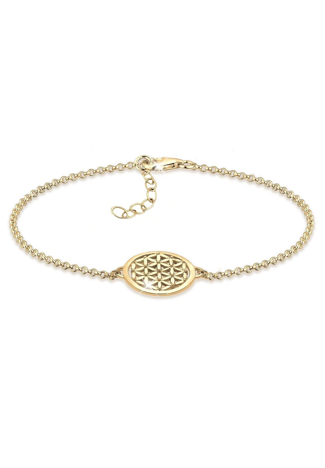 Elli Armband »Lebensblume vergoldet«