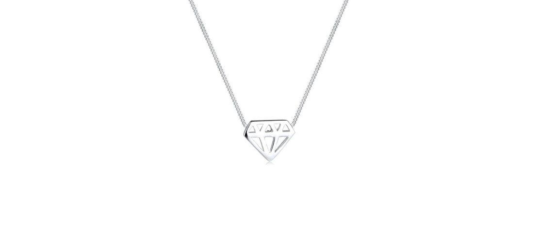Elli Halskette »Diamant 925 Silber«