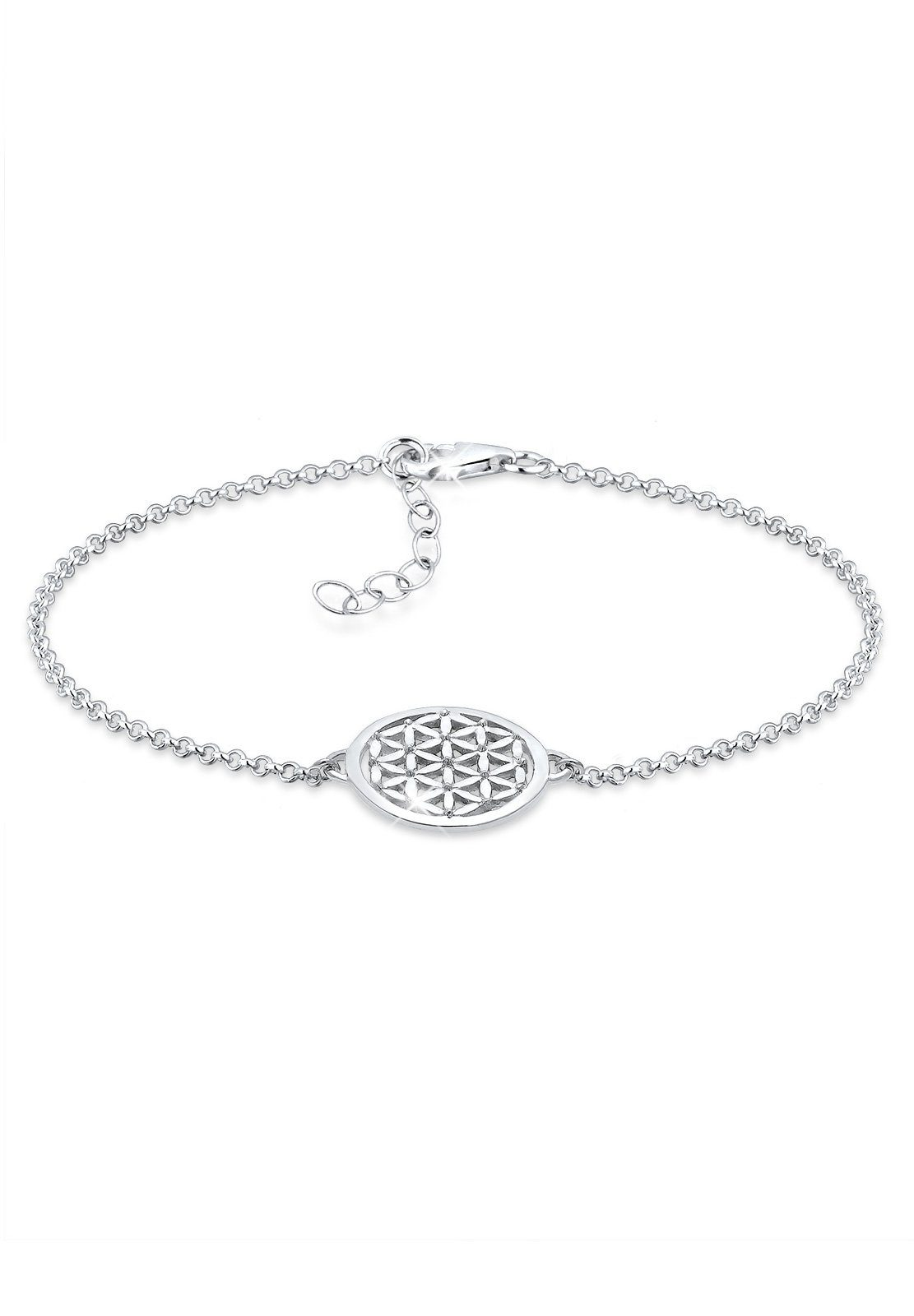 Elli Armband »Lebensblume Sterling Silber 925«