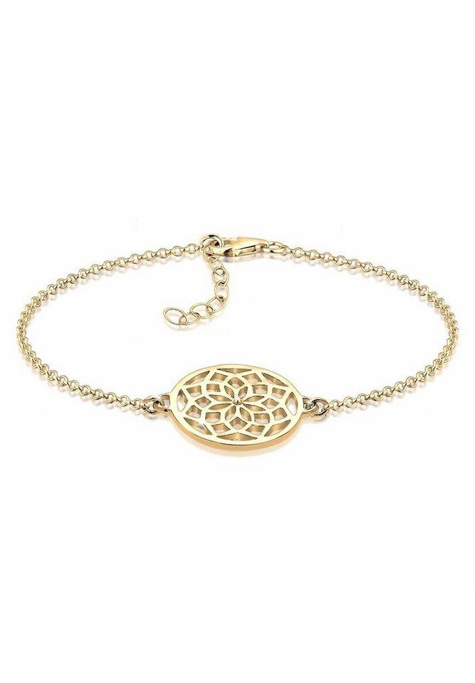 Elli Armband »Traumfänger vergoldet« in Gold