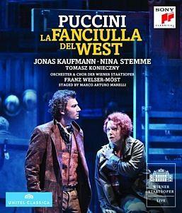 Blu-ray »La Fanciulla Del West«