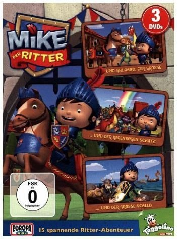 DVD »Mike, der Ritter Folge 1-3«