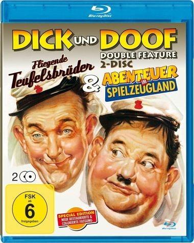Blu-ray »Dick & Doof - Fliegende Teufelsbrüder /...«