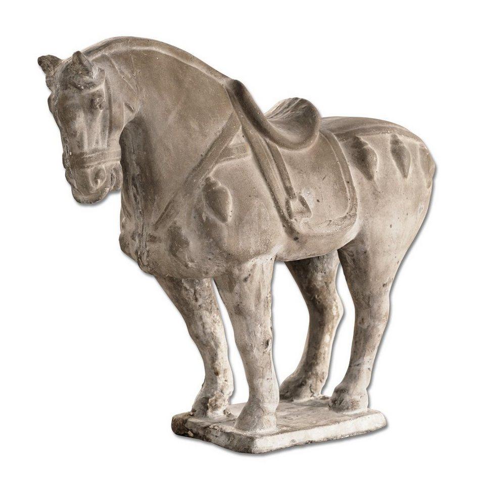 Loberon Deko-Pferd »dresser un cheva« in grau