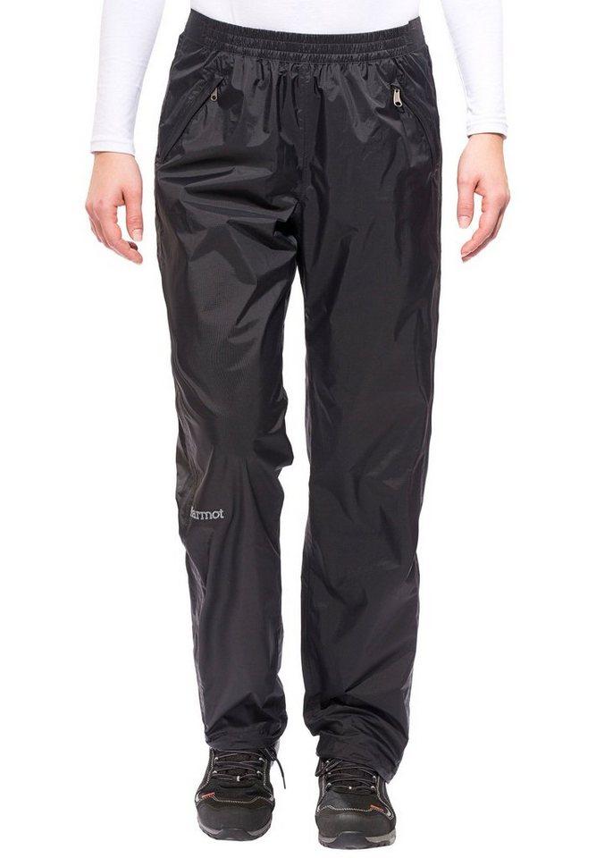 Marmot Outdoorhose »PreCip Full Zip Pant Women Long« in schwarz