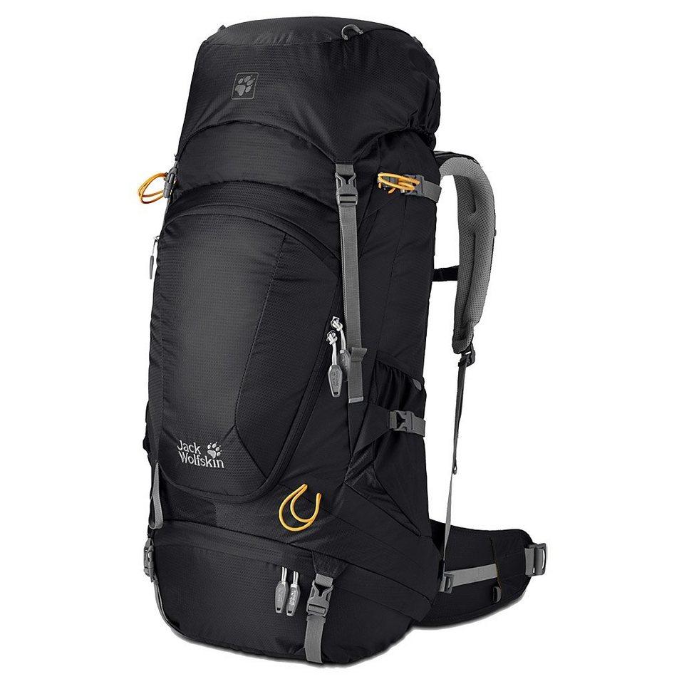 Jack Wolfskin Sport- und Freizeittasche »Highland Trail XT 60 Backpack« in schwarz
