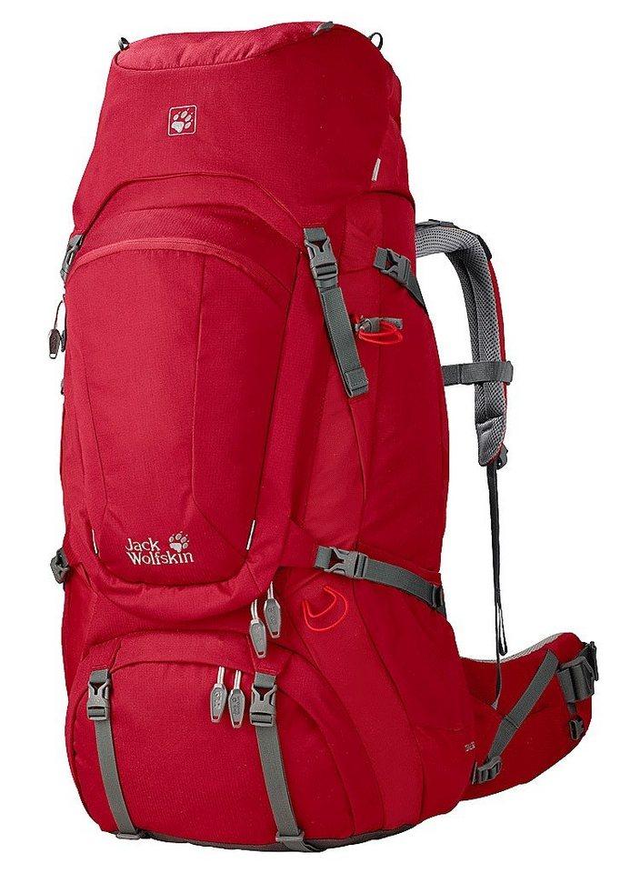 Jack Wolfskin Wanderrucksack »Denali 60 Backpack Women« in rot