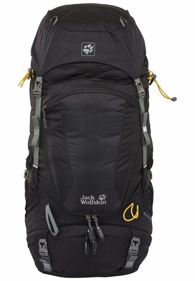 Jack Wolfskin Wanderrucksack »Highland Trail XT 50 Backpack« in schwarz