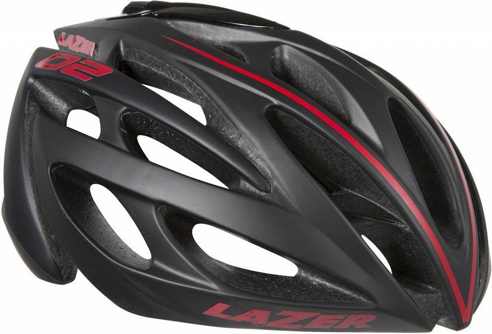Lazer Fahrradhelm »O2 Helm« in schwarz