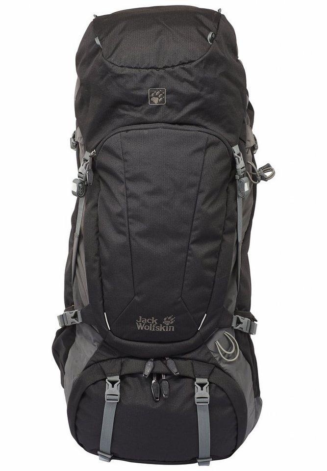 Jack Wolfskin Wanderrucksack »Denali 65 Backpack« in schwarz