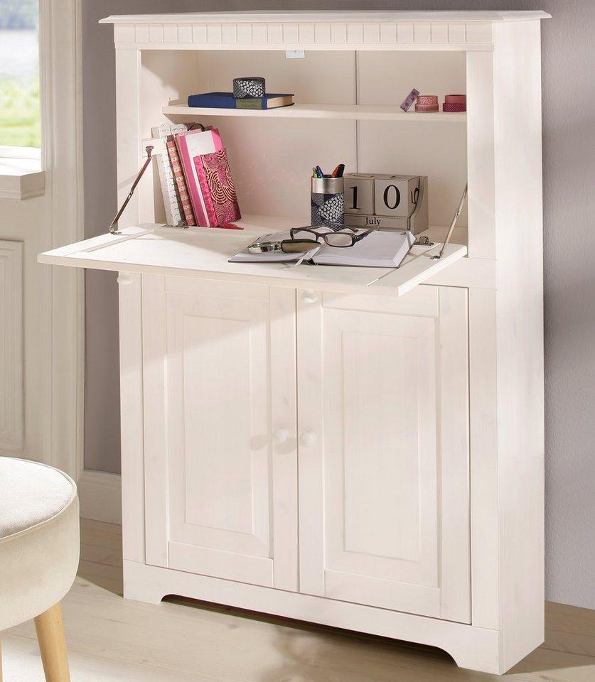 Home affaire Sekretär »Lisa«, Breite 85 cm in weiß