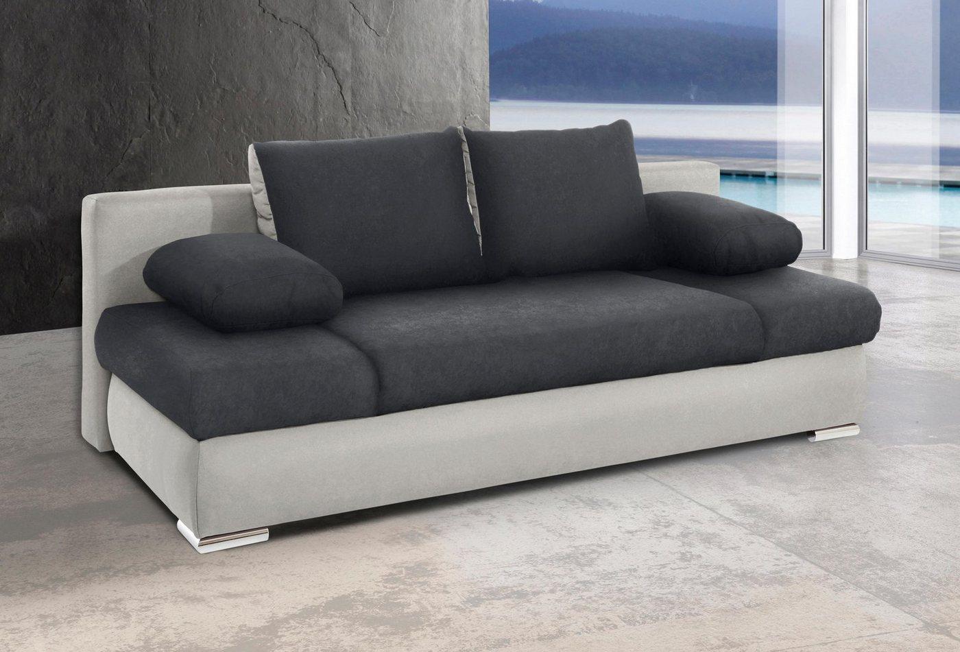 Bett mit bettkasten 140 cm breit preisvergleiche for Schlafsofa 120 breit mit bettkasten
