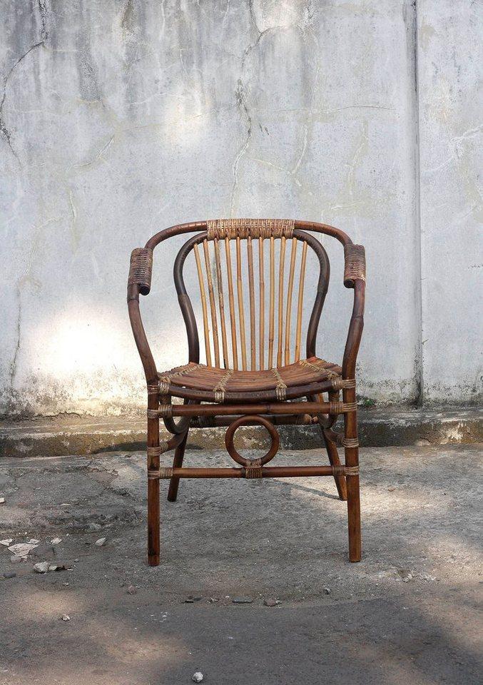 SIT Rattan Stuhl »Vintage« in braun