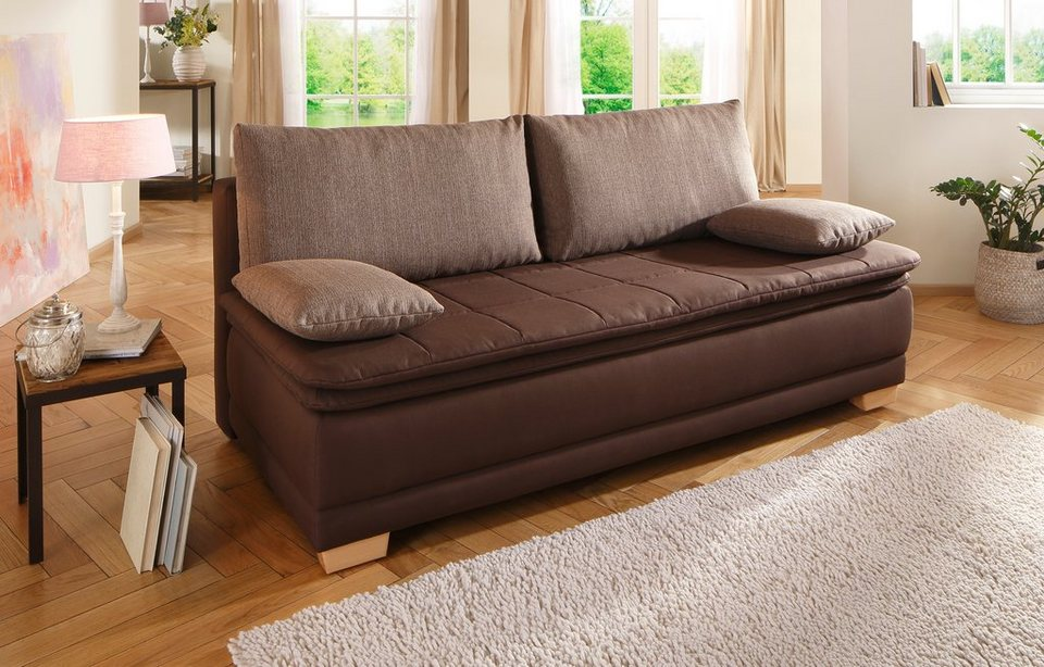 home affaire boxspring schlafsofa curly kaufen otto. Black Bedroom Furniture Sets. Home Design Ideas