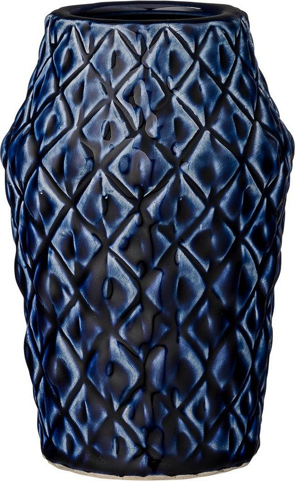 Bloomingville Vase in blau