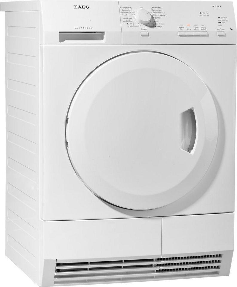 AEG Trockner T55770IH4, A++, 7 kg in weiß