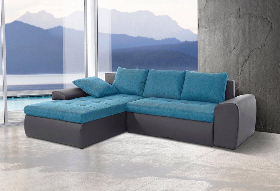 sit&more Polsterecke inklusive Bettfunktion kaufen | OTTO