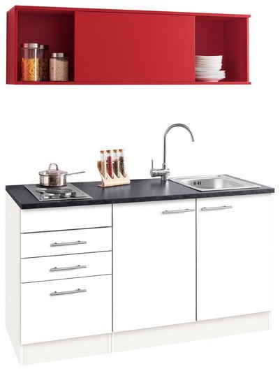 OPTIFIT Küchenzeile »Mini«, Mit E Geräten, Breite 150 Cm