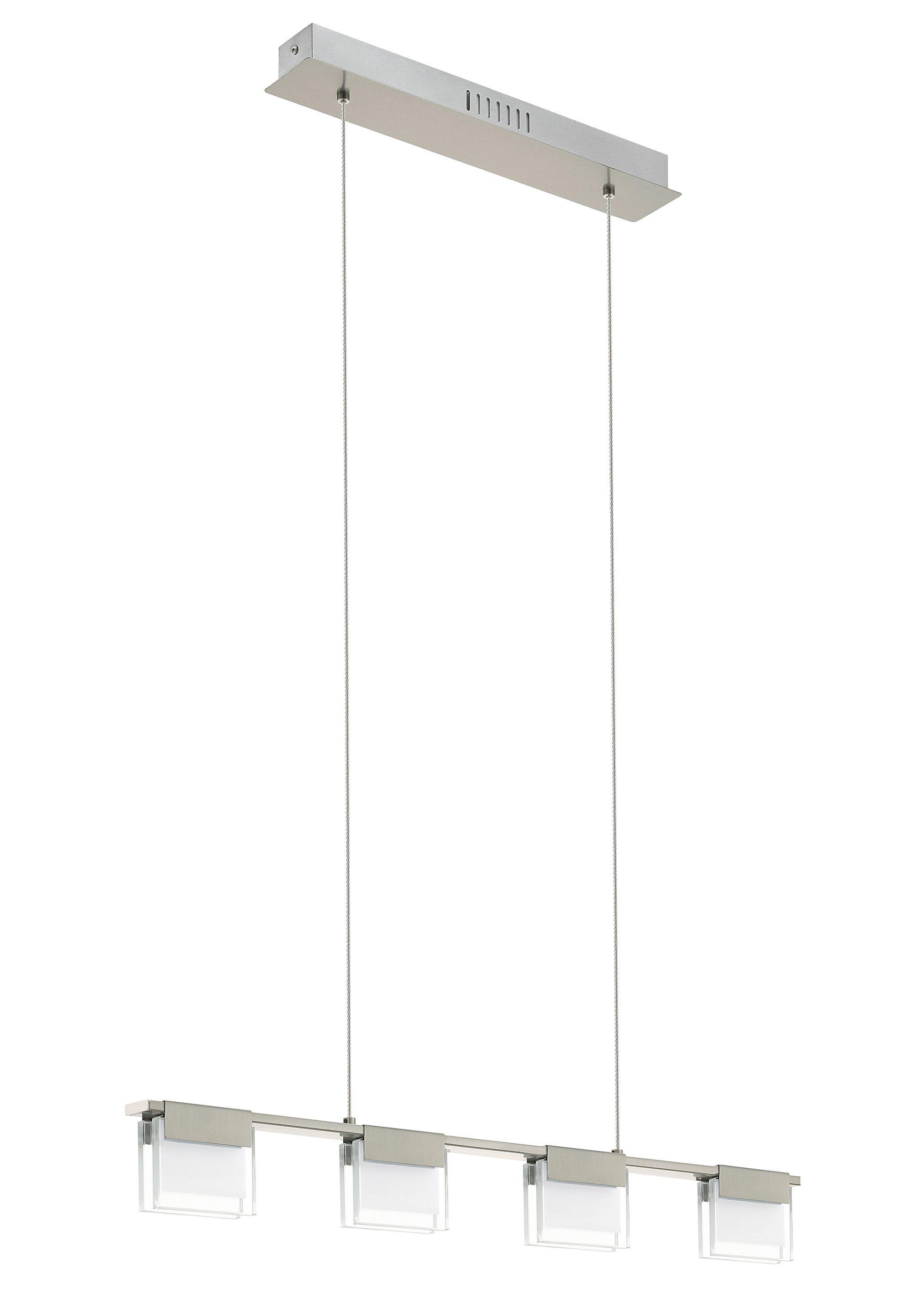 Eglo LED-Pendelleuchte, 4flg., »CLAP1«