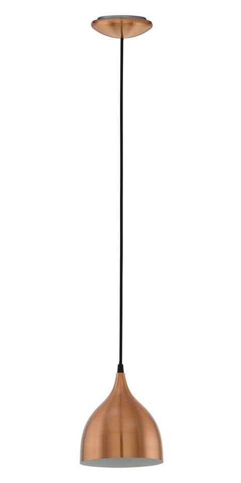 Eglo Pendelleuchte, 1flg., »CORETTO« in Stahl, kupferfarben