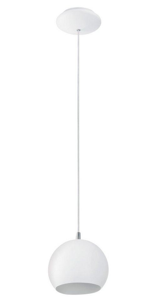 Eglo Pendelleuchte, 1flg., »PETTO« in Stahl, weiß