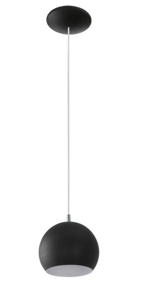 Eglo Pendelleuchte, 1flg., »PETTO« in Stahl, schwarz