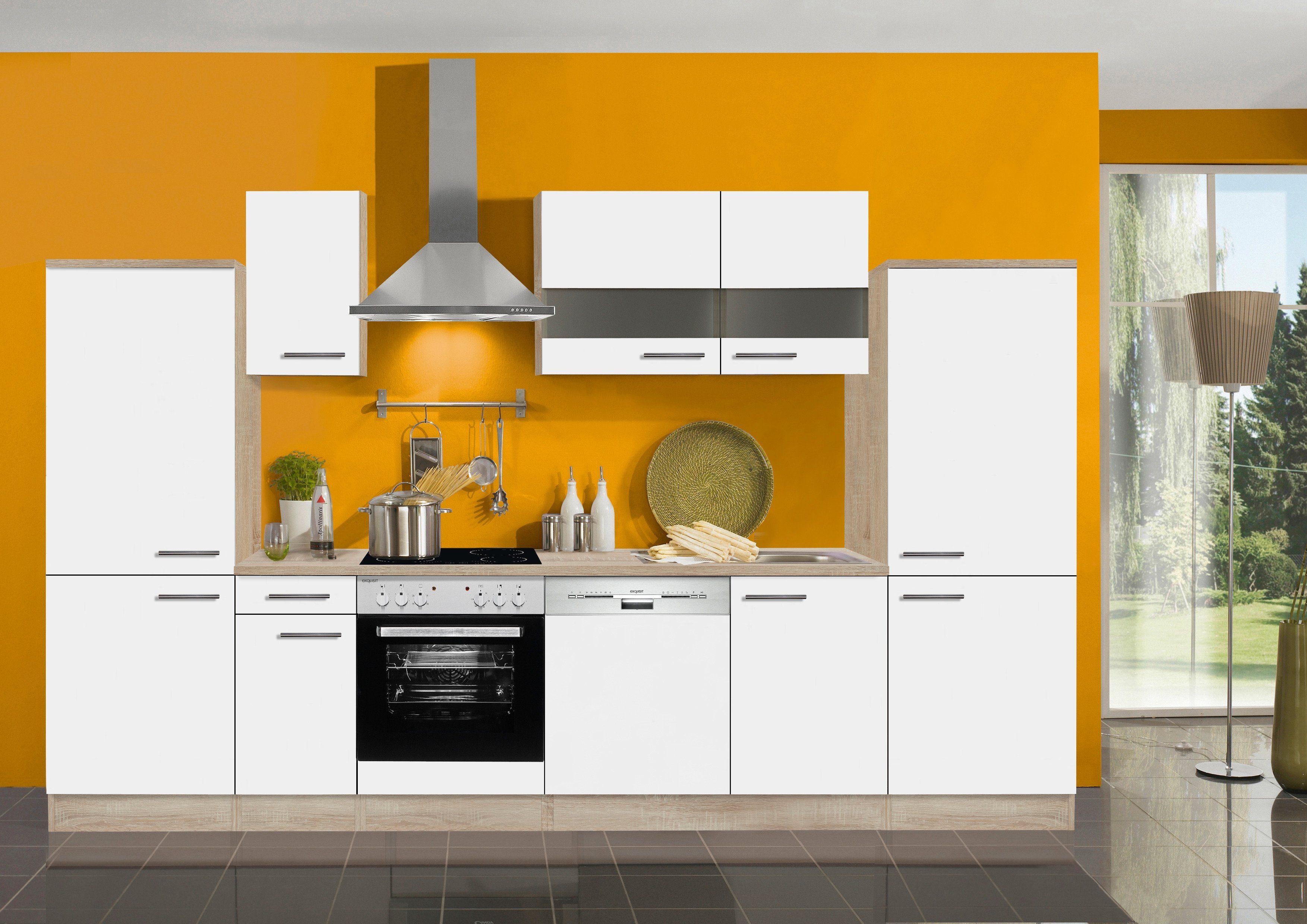 Optifit Küchenzeile ohne E-Geräte »Dakar«, Breite 330 cm