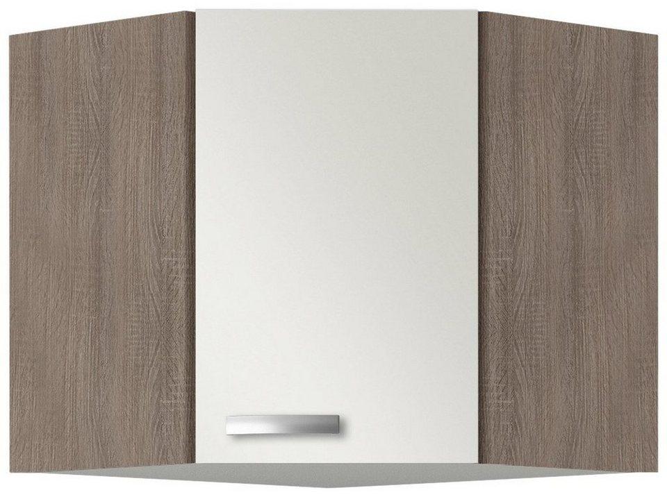 Eck-Hängeschrank »Rom«, Breite 60 x 60 cm in cremefarben