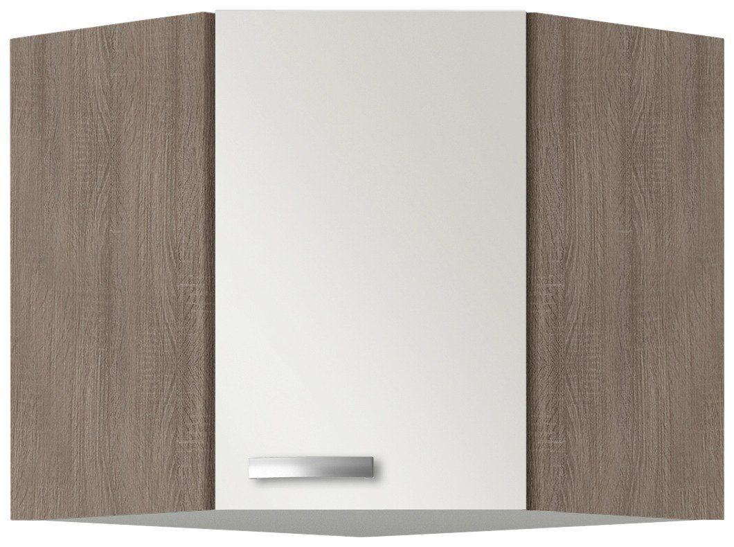 Eck-Hängeschrank »Rom«, Breite 60 x 60 cm