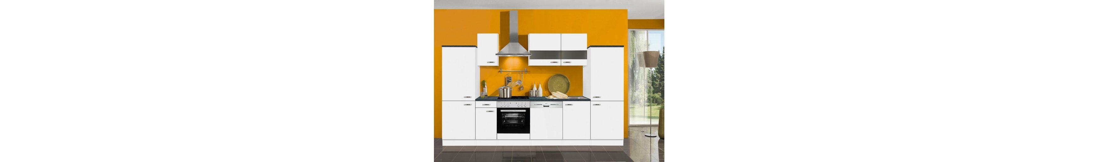 Küchenzeile ohne E-Geräte »Lagos«, Breite 330 cm