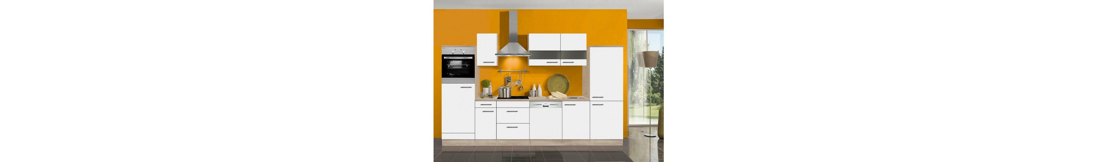 Küchenzeile ohne E-Geräte »Dakar«, Breite 330 cm