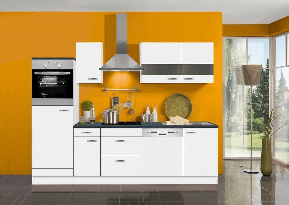 optifit k chenzeile ohne e ger te lagos breite 270 cm online kaufen otto. Black Bedroom Furniture Sets. Home Design Ideas