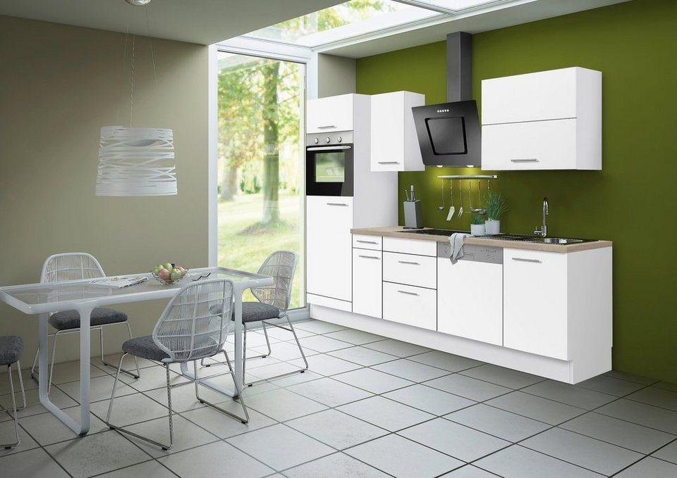 Optifit Küchenzeile ohne E-Geräte »Michel«, Breite 270 cm in weiß