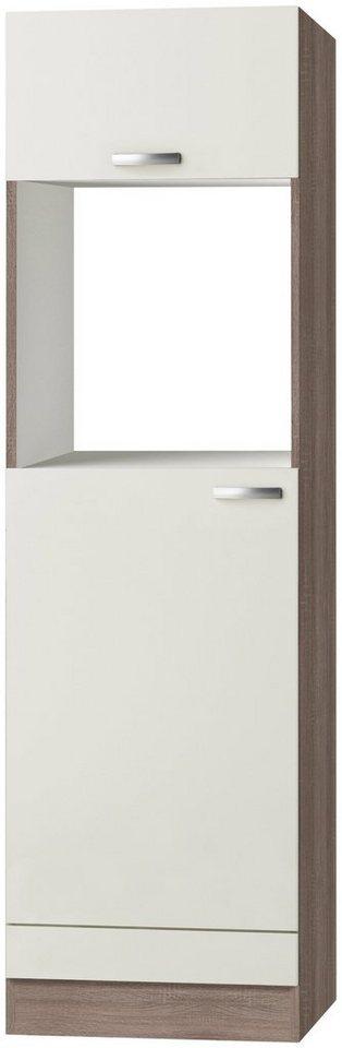 Kombinierter Backofen-Kühlumbauschrank »Rom«, Höhe 206,8 cm in cremefarben