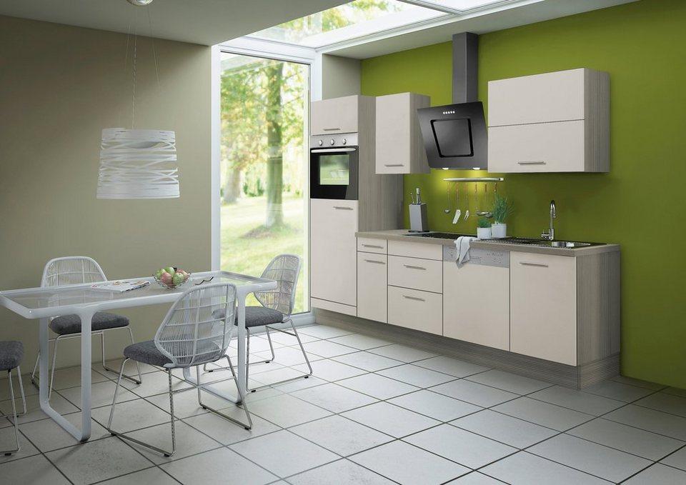 Optifit Küchenzeile ohne E-Geräte »Finn«, Breite 270 cm in sandfarben