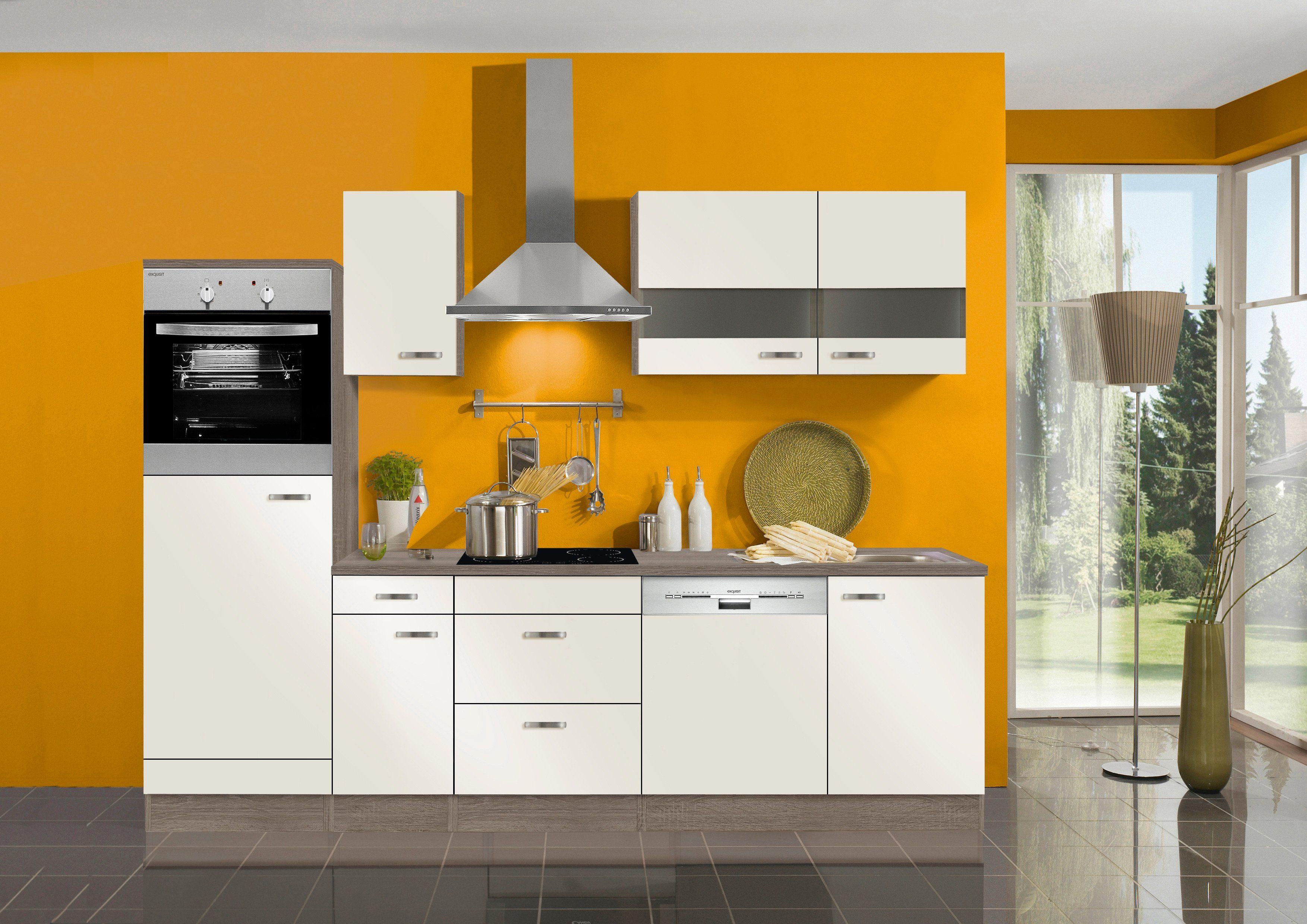 Optifit Küchenzeile ohne E-Geräte »Rom«, Breite 270 cm