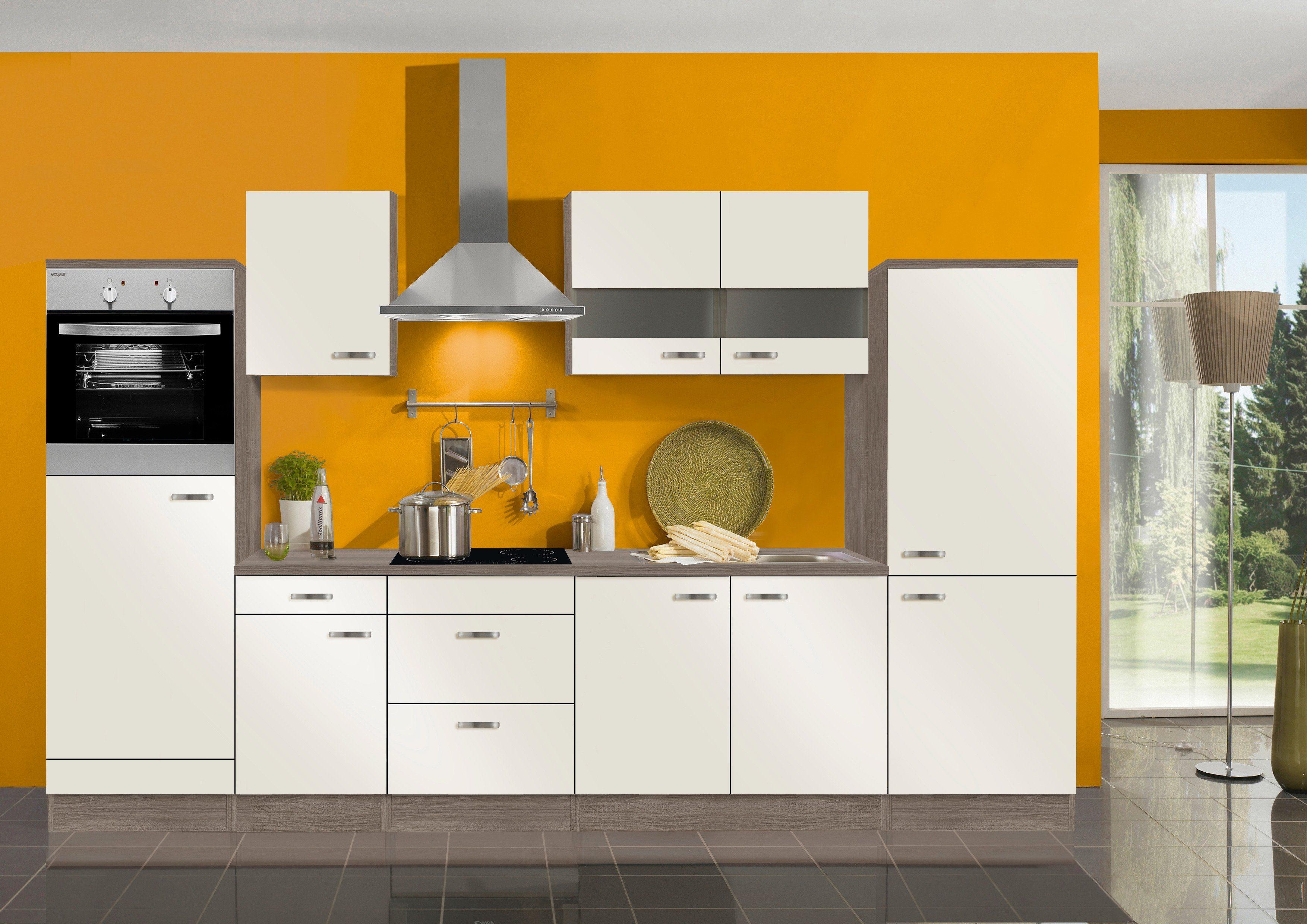 Optifit Küchenzeile ohne E-Geräte »Rom«, Breite 330 cm