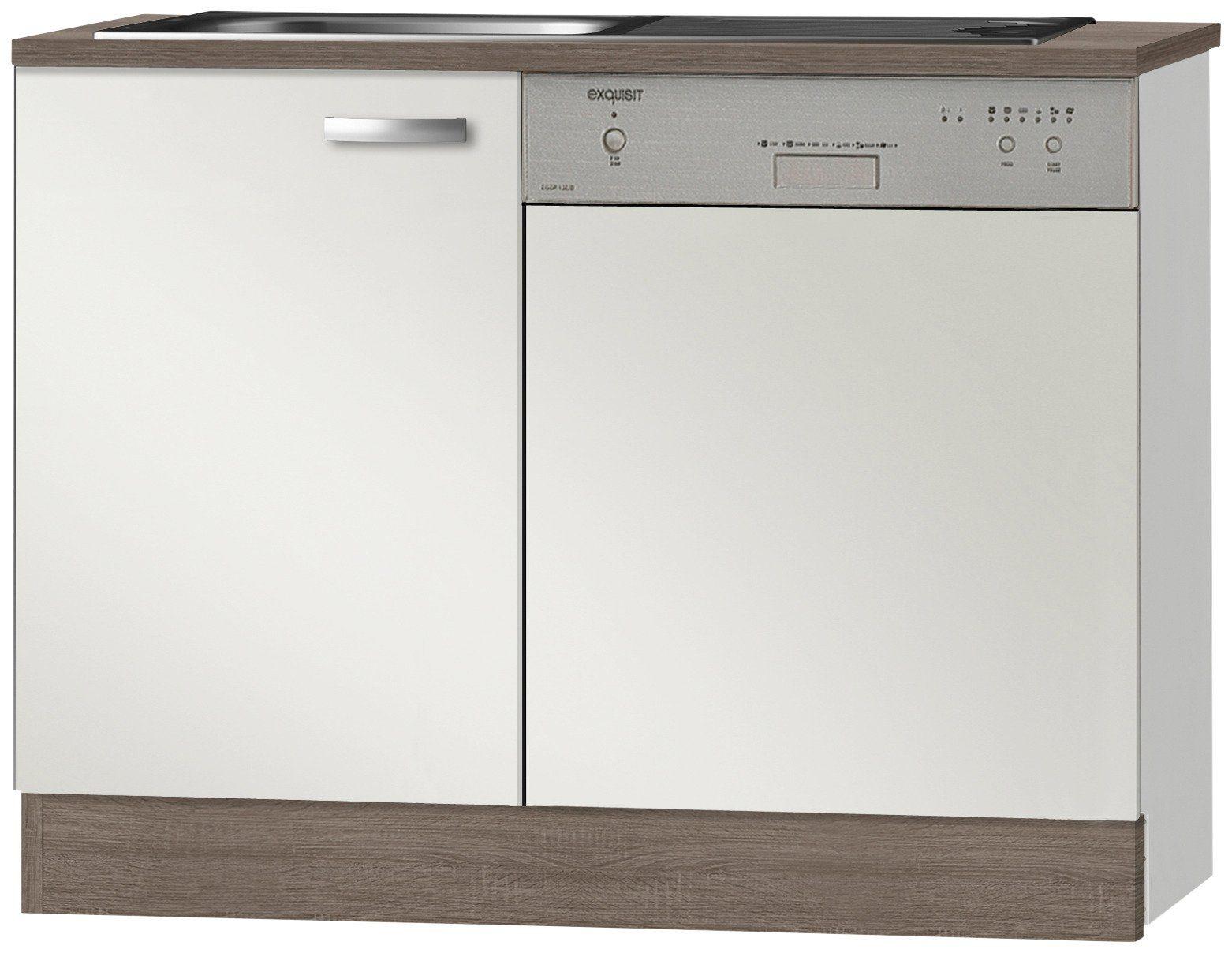 Optifit Spülenschrank »Rom«, Breite 110 cm