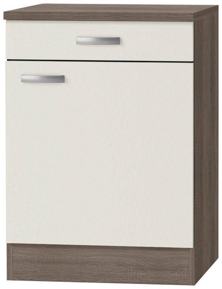Küchenunterschrank »Rom«, Breite 60 cm in cremefarben