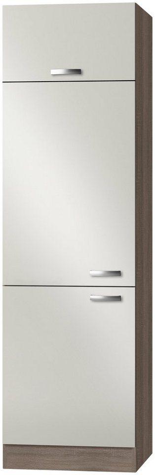 Kühlumbauschrank »Rom«, Höhe 206,8 cm in cremefarben